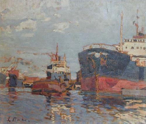 Porto di Livorno 32x42