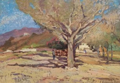 Domenici - Paesaggio elbano 50x70