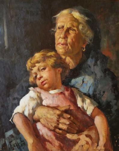 Filippelli la nonna 66x53