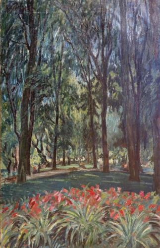 Giardini di villa borghese 70x45