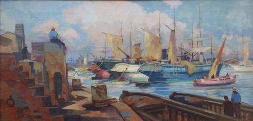 Porto di Livorno 46x92