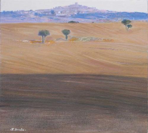 Paesaggio - cm 33x33