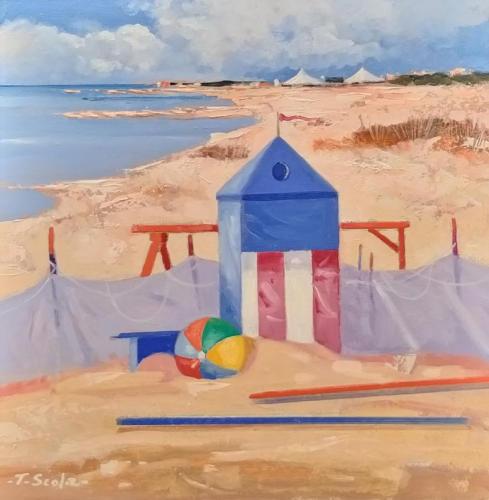 Scola - Particolari in spiaggia 25x24